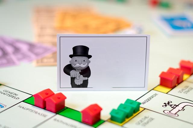 Monopoly Spiel als Investor